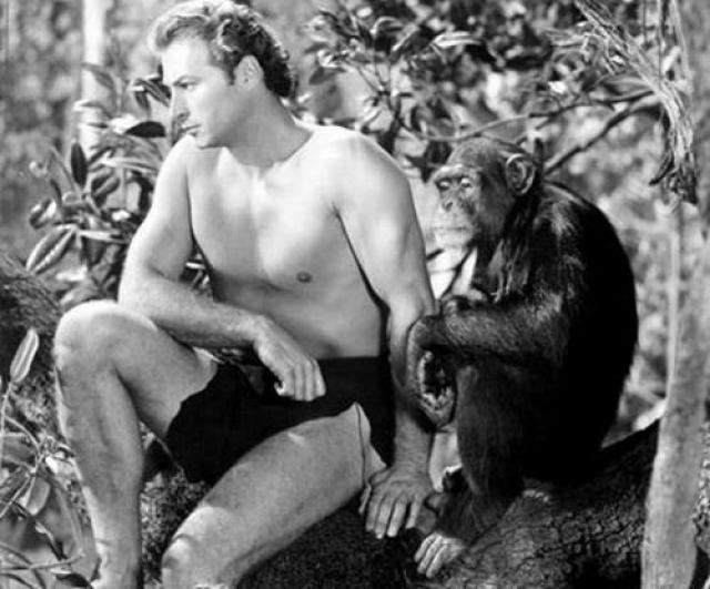 """В 1932 году, завершив спортивную карьеру, Джонни подписал семилетний контракт с киностудией Metro-Goldwyn-Mayer, снялся в роли Тарзана в фильме """"Тарзан, человек-обезьяна"""", сделавшем его звездой. Кстати, в фильмах об этом персонаже он сыграл аж 12 раз."""
