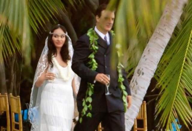 Свадьба прошла 6 апреля 2012 года, и была тихой и невероятно романтичной. Церемония бракосочетания проходила на острове Мауи, а в качестве гостей были приглашены только самые близкие влюбленных - всего 10 человек. Четырехлетний сын Криса Нота и Тары Орион Кристофер выполнял важную роль на свадебном торжестве - он стал хранителем кольца.