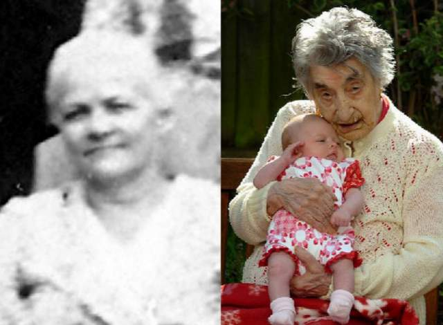 Люси Ханна, 16 июля 1875 - 21 марта 1993, прожила 117 лет, 248 дней. Ханна является старейшей афроамериканкой и четвертым старейшим человеком в истории.