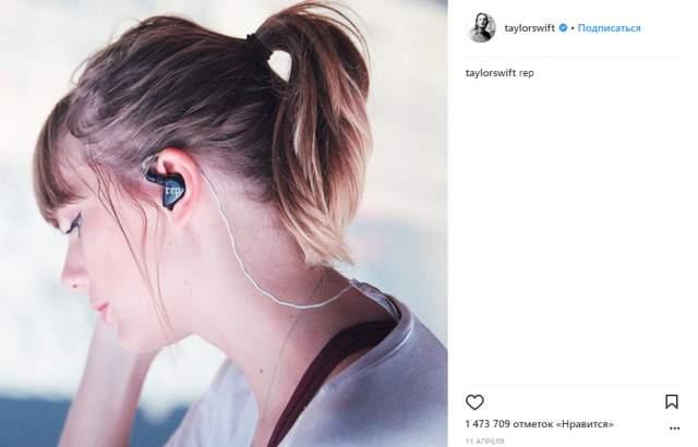 """7 место: Тейлор Свифт. @taylorswift, 107 млн. Начиная со второго альбома, который сразу после выхода получил четыре """"Грэмми"""", певица заняла прочную позицию на пьедестала почета в поп-музыке."""