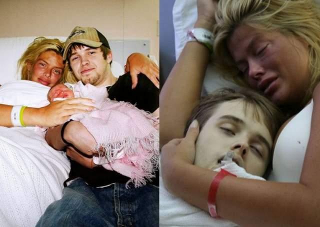 Финал жизни модели был очень печальным. Она родила дочь Дэннилин 7 сентября 2006 года, а через три дня первенца модели, Дэниела, нашли мертвым. Причина была в передозировке наркотиками. Еще через пять месяцев было обнаружено тело самой Анны Николь.