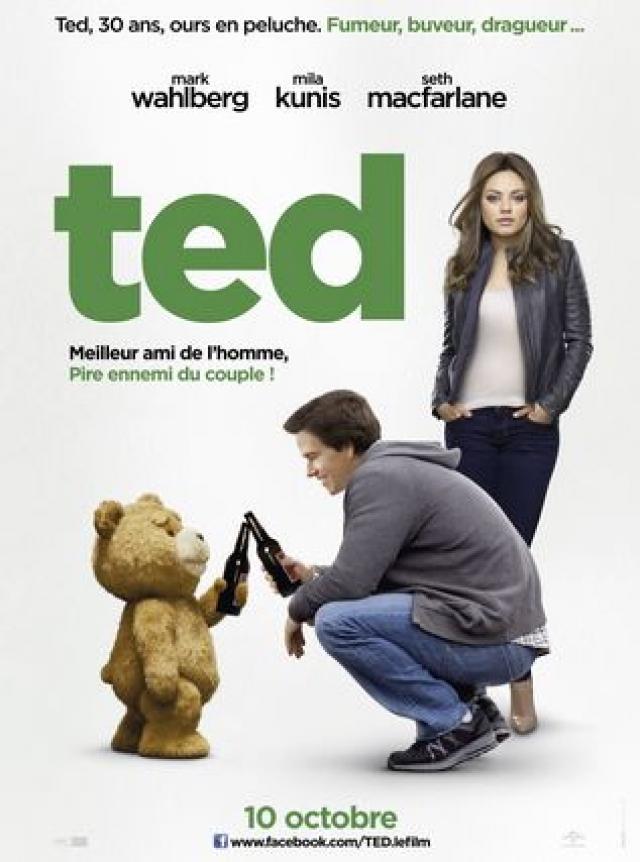 """""""Третий Лишний"""" . В оригинале название фильма происходит от сокращения имени """"Teddy"""" - """"Ted"""", что значит плюшевый мишка."""