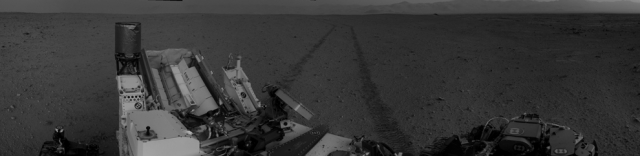 Утро на Марсе.