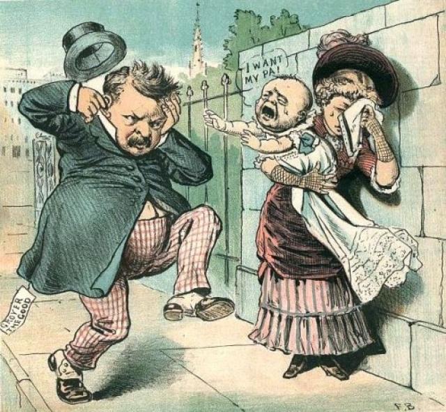 В свою защиту Кливленд говорил, что не был уверен в своем отцовстве, а Марию Халпин обвинил в пристрастии к алкоголю. Случай с внебрачным ребенком довольно долго высмеивался его политическими противниками.