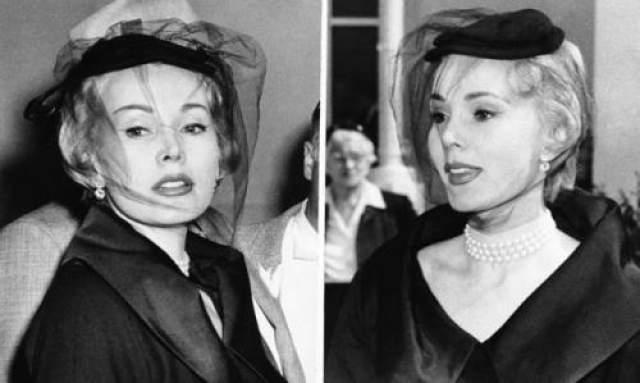 Жа Жа Габор, 1954