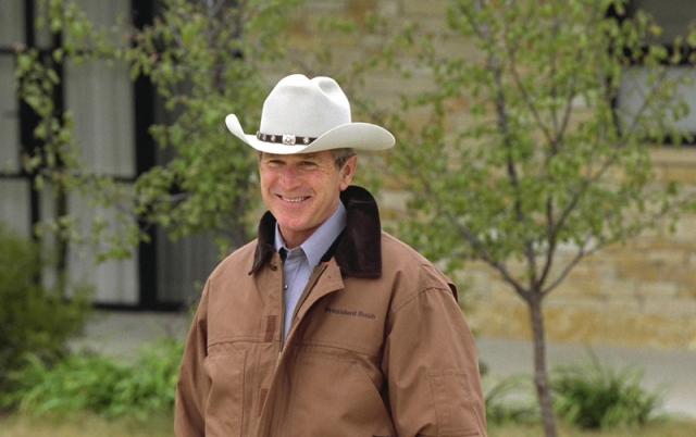 Джордж Буш младший был признан американцами самым безвкусным из президентов. Особенную ненависть заслужила его ковбойская шляпа.