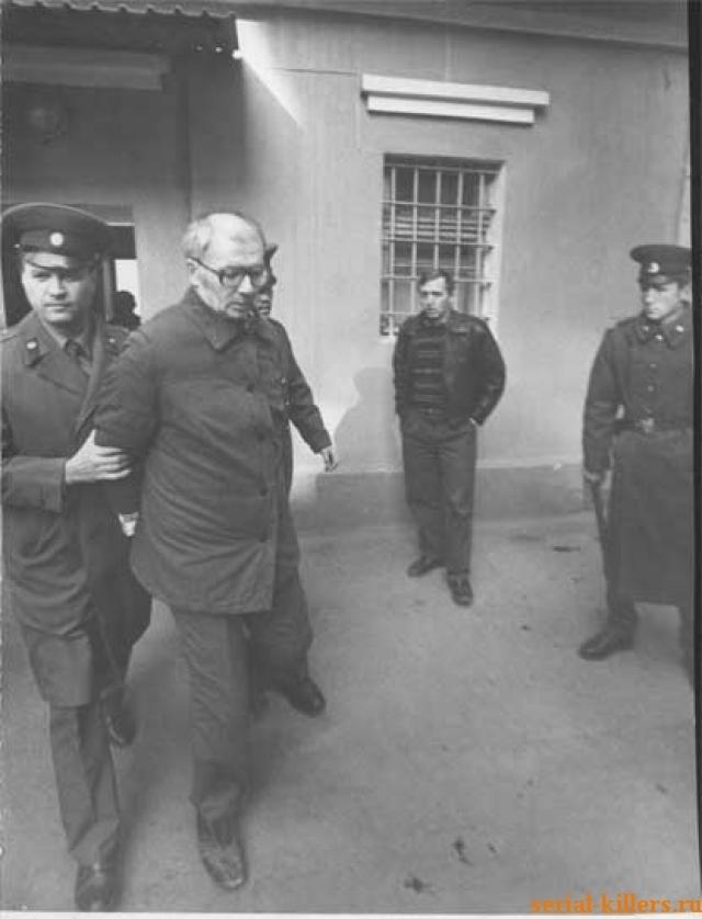 20-го ноября Андрей Романович отправился на поиски жертв, снова привлекая внимание милиции. На этот раз маньяк был арестован.