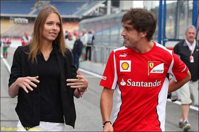 Фернандо Алонсо и Дарья Капустина С 2012 по январь 2015 года знаменитый гонщик встречался с русской моделью из Владивостока.
