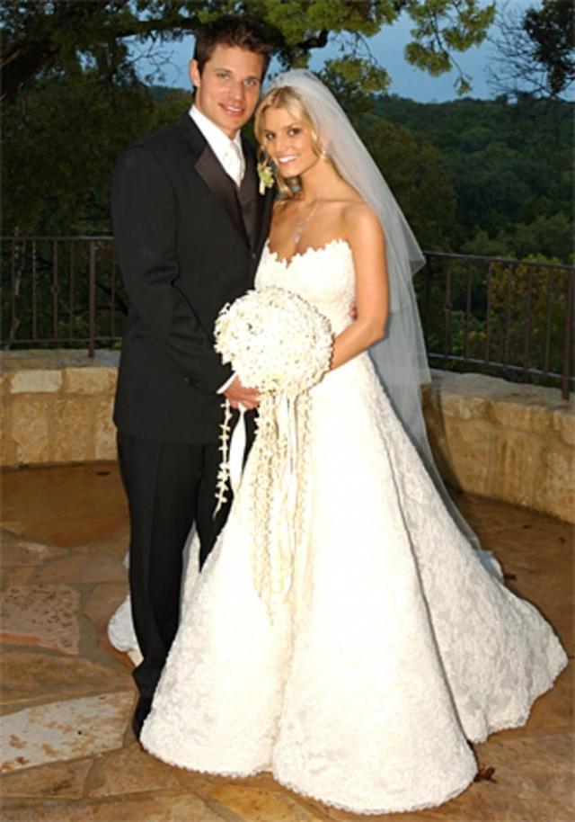 В 22 года Джессика стала женой актера Ника Лаше и с ним же лишилась девственности.