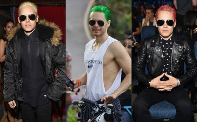 Также некоторое время Лето ходил с зелеными и красными волосами.