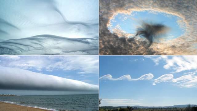 Любопытно то, что появление таких облаков не несет в себе никаких ужасных предвестий вроде урагана или грозы.