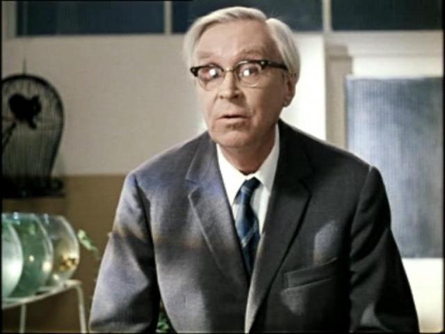 """Эраст Гарин , 1902 - 1980. Профессор-археолог из """"Джентльменов удачи"""" снимался в кино с середины 30-х годов прошлого века."""