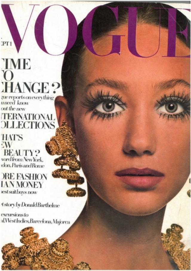 """Мариса Беренсон. Ив Сен-Лоран назвал Марису Беренсон, внучку дизайнера Эльзы Скиапарелли, """"девочкой 70-ых""""."""