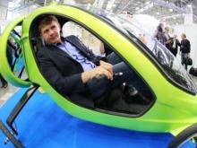 Летающий электромобиль создали в России