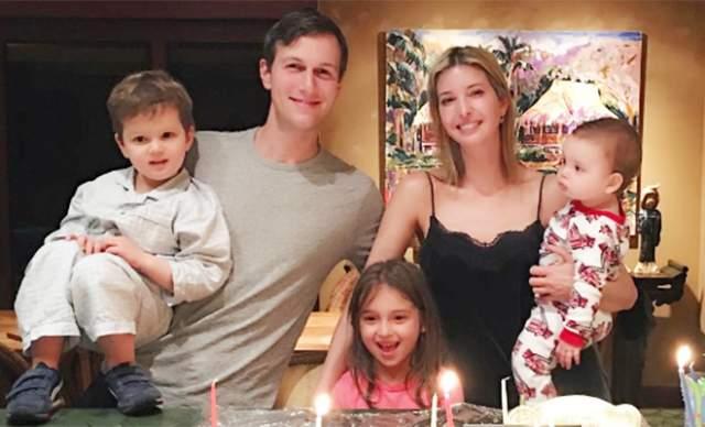 Иванка замужем за бизнесменом и воспитывает с ним троих детей.