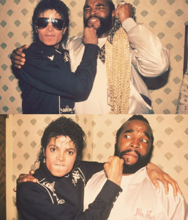 Майкл Джексон и Мистер Ти.