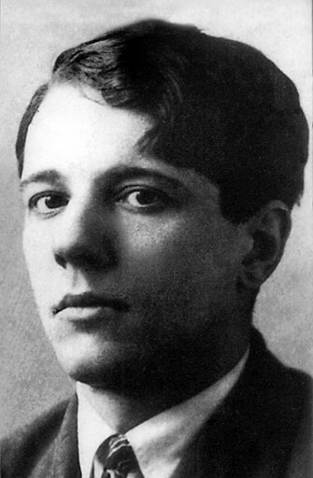 Александр Введенский. Русский поэт и драматург из объединения ОБЭРИУ, вместе с другими членами которого был арестован в конце 1931 года.