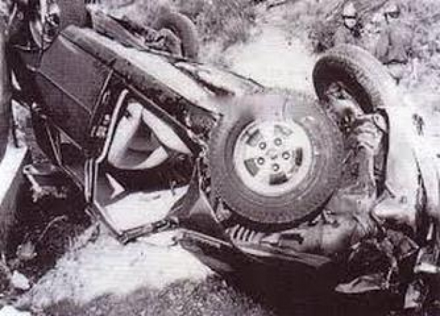Ее автомобиль 14 сентября 1982 года сорвался из горного серпантина во Франции.