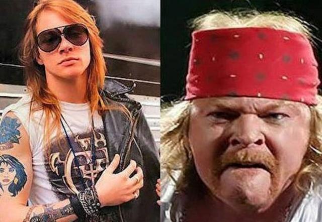 Впрочем, и сейчас поклонники с трудом узнают некогда популярную рок-звезду.