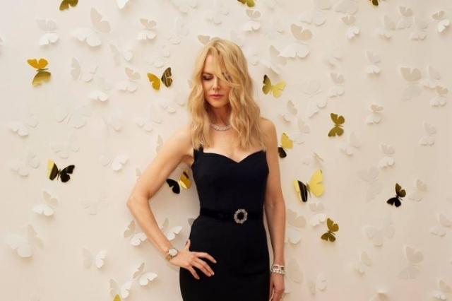 Николь Кидман. Актриса - жертва инсектофобии, боязни насекомых. При этом она не выносит лишь бабочек.