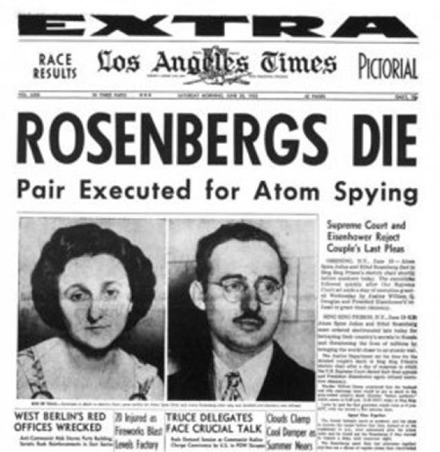Основная информация, которую предоставляла группа Розенбергов, касалась химии и радиолокации. Однако дело было раздуто как американской, так и советской стороной из-за коммунистических убеждений супругов.