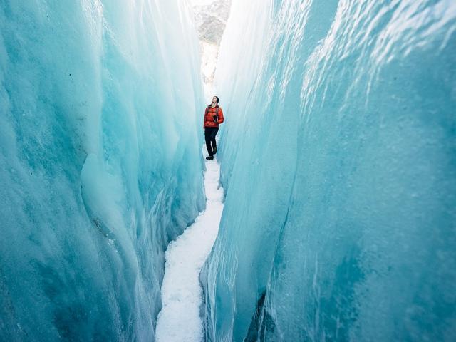 Ледник Франца-Иосифа в Новой Зеландии. Johan Lolos