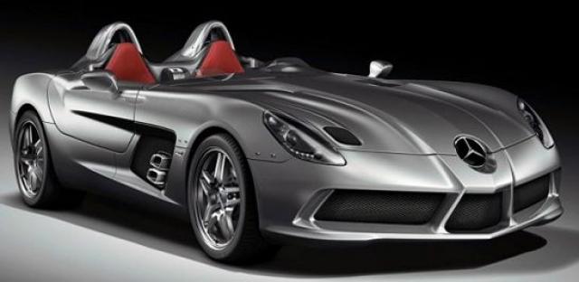 Mercedes-Benz SLR McLaren Stirling Moss - $1 140 000. Проект вдохновлен Стерлингом Моссом - приведшим фирму, к победе в крупных автосоревнованиях в середине прошлого века.