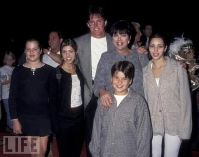 Семья Кардашьян в 1995 году