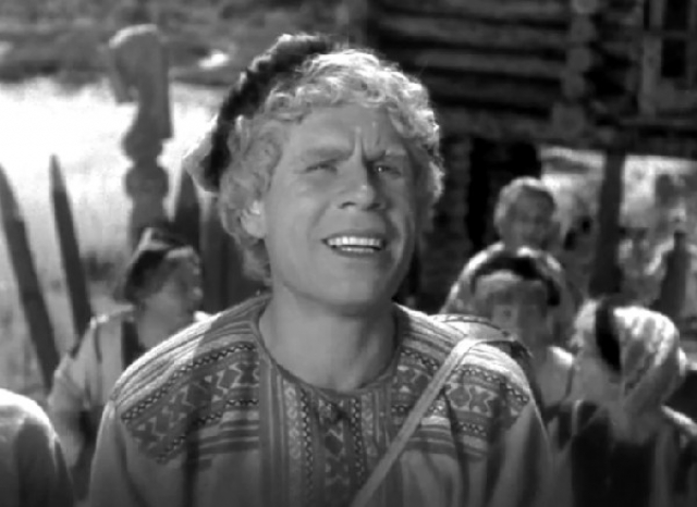 """В молодости актер часто играл в сказках. Например, один из его первых фильмов - """"Кащей Бессмертный"""" (1944)."""