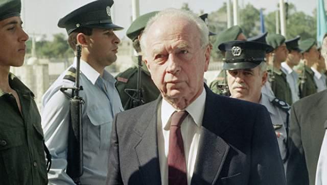 Ицках Рабин Израильский политический и военный деятель был убит 4 ноября 1995 года на площади Царей Израиля в Тель-Авиве.