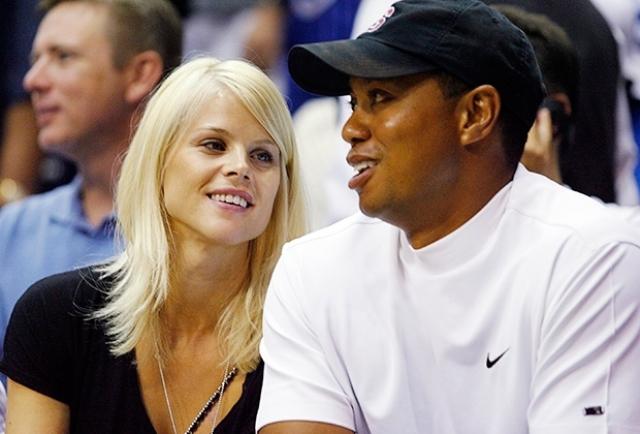 Спортсмен уже был женат на Элин Нордегрен, но после череды громких скандалов, развелся.