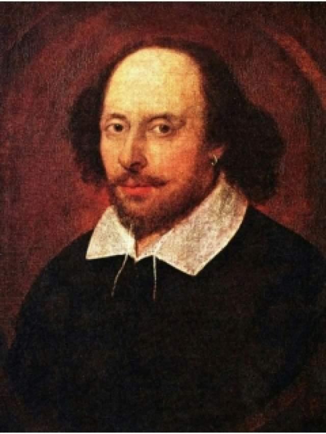 """Уильям Шекспир, 23 апреля 1564 - 23 апреля 1616. Автор """"Гамлета"""", """"Отелло"""" и """"Ромео и Джульетты"""" был женат, у них с супругой Энн было две дочери, Сьюзен и Джудит."""