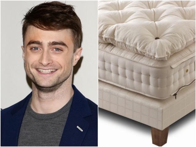 """Дэниел Рэдклифф. Если большинство молодых парней, живущих отдельно от родителей, платят менее $17 000 за годовую аренду жилья, """"Гарри Поттер"""" за ту же сумму смог купить всего один матрас."""