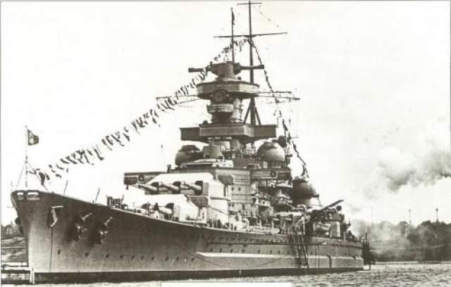 """Проклятый корабль То, что произошло с гордостью немецкого флота-огромным боевым кораблем """"Шарнхорст"""", можно назвать цепью роковых случайностей или самым настоящим проклятием."""