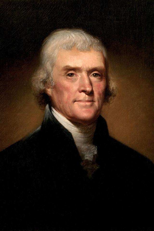 Излюбленным местом в доме была спальня с кроватью-альковом, на которой Джефферсон релаксировал после долгих и мучительных часов размышлений.