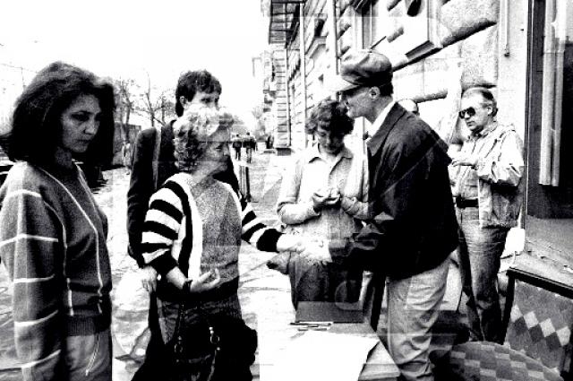 """По следам публикации Генрих Боровик снял документальный фильм """"Человек с Пятой авеню"""" с Маури в главной роли. После выхода фильма Маури приехал в СССР, был принят Громыко и отправился по городам, собирая подписи под петицией в защиту тысяч простых американцев, оставшихся без крова"""