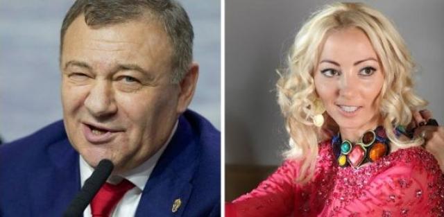 Аркадий и Наталья Ротенберг. Поскольку между этими супругами был заключен брачный контракт, развод не затянулся на долгие годы.