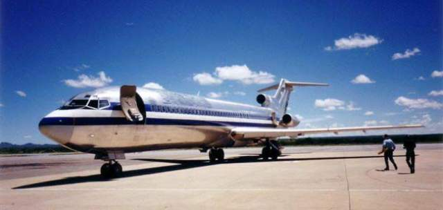 25 мая 2003 года после взлета в международном аэропорту Quatro de Fevereiro в Анголе исчез Боинг 727.
