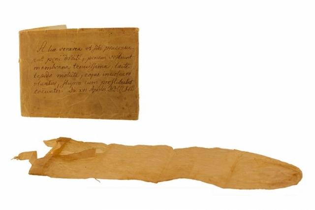 Презерватив. История презервативов насчитывает по крайней мере четыреста лет - он был изобретен в начале XVI века доктором Чарльзом Кондомом для Генриха VIII и был изготовлен из слизистой оболочки кишечника овцы.
