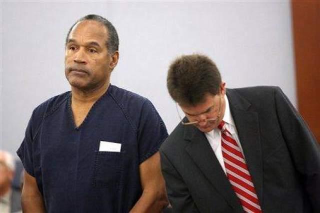 Таким образом О. Джек Симпсон удалось избежать тюрьмы, но лишь на короткий срок: уже в декабре 2008 года суд Лас-Вегаса признал футболиста виновным в организации и руководстве преступным сообществом и приговорил его к 33 годам тюремного заключения. Впоследствии суд частично удовлетворил ходатайство Симпсона, и уже в 2017 году спортсмен вышел на волю.