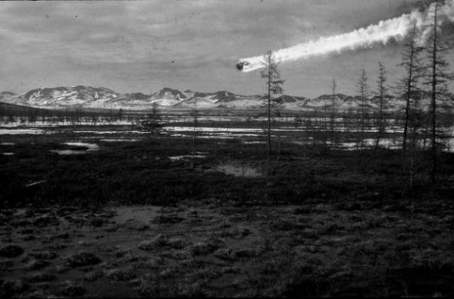 1. Тунгусский метеорит 17 июня 1908-го года в семь часов по местному времени в районе реки Подкаменной Тунгусски (Россия) произошёл воздушный взрыв мощностью порядка 40-50-ти мегатонн — такая мощность соответствует взрыву тысячи ядерных бомб, сброшенных на Хиросиму.