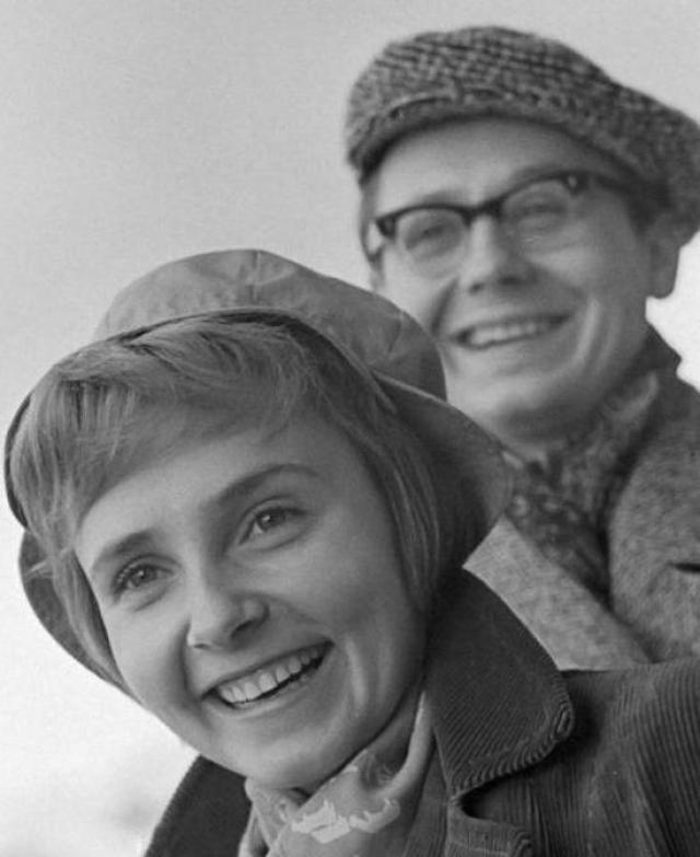 """Олег Табаков. """"Кот Матроскин"""" и актриса Людмила Крылова состояли в браке более 30 лет."""