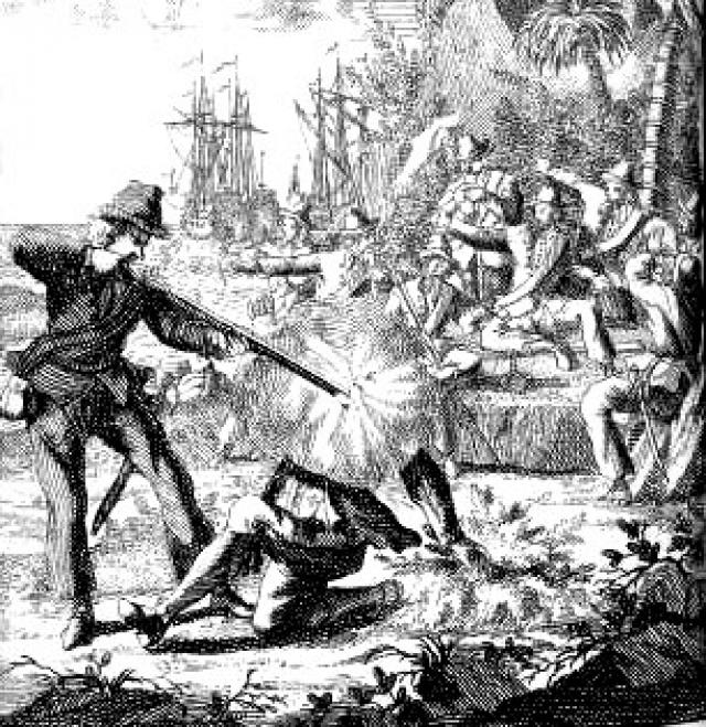 Это время считается закатом века пиратства, однако Лау прославился тем, что за короткое время сумел захватить более ста кораблей, проявив при этом редкостную кровожадность.