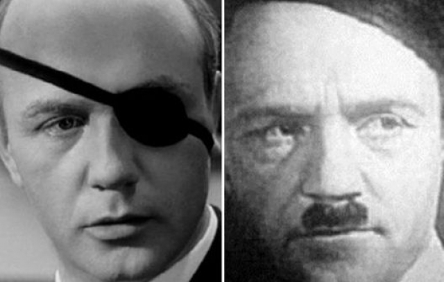 Несколько кандидатур было и на роль Гитлера, на которого пробовались два Леонида: Броневой и Куравлев. Однако их фотопробы режиссера не удовлетворили, и они были утверждены на другие роли: Броневой сыграл Мюллера, Куравлев - Айсмана.