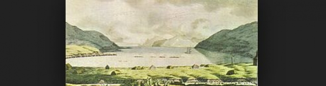 Первым крупным русским поселением на Аляске стало поселение на острове Уналашка, открытом в 1741 году во время Второй экспедиции Беринга.