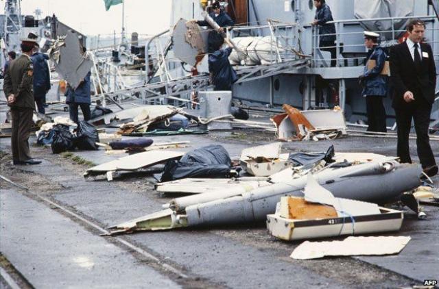 Подозрение пало на сикхских экстремистов, причем не одна, а сразу три экстремистские группы в США и Канаде взяли на себя ответственность за гибель рейса Air-India 182.