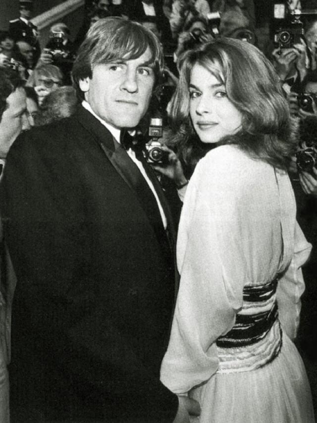 """После выхода фильма """"Луна в сточной канаве"""" в 1983 Депардье стали приписывать отношения с красоткой Настасьей Кински."""
