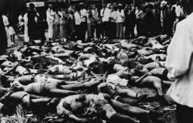 Таким образом, в ходе экспериментов, было покалечено около десяти тысяч невинных людей включая и младенцев.