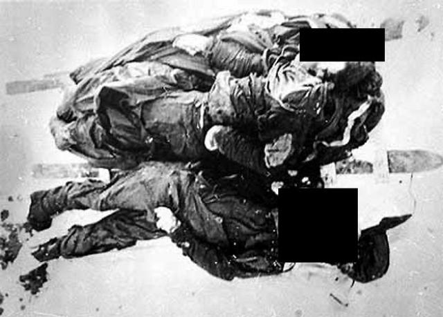 У всех тел диагностировали страшные травмы, полученные еще при жизни. У Дубининой и Золотарева были переломы 12 ребер, у Дубининой - и с правой, и с левой стороны, у Золотарева - только с правой.
