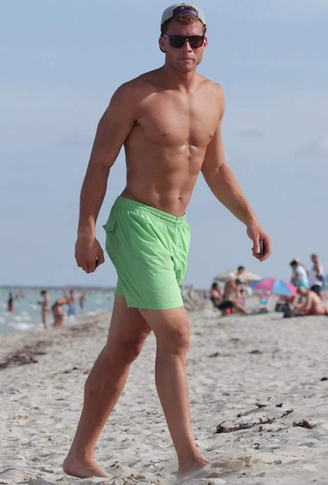 Блейк Гриффин , победитель конкурса слэм-данков 2011 года.
